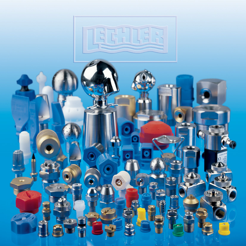 Nozzles and spraying systems of Lechler